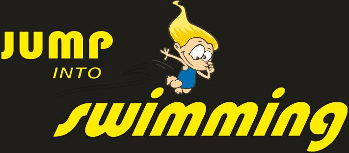 Jump Into Swimming Logo