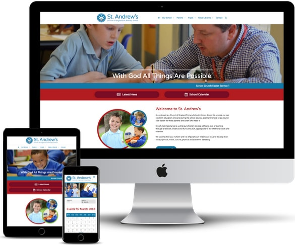Brothers Creative | St. Andrews CEVA School Website