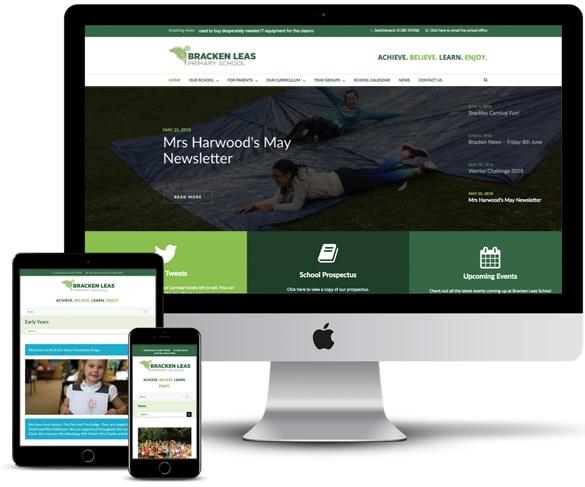 Brothers Creative | Bracken Leas School Website