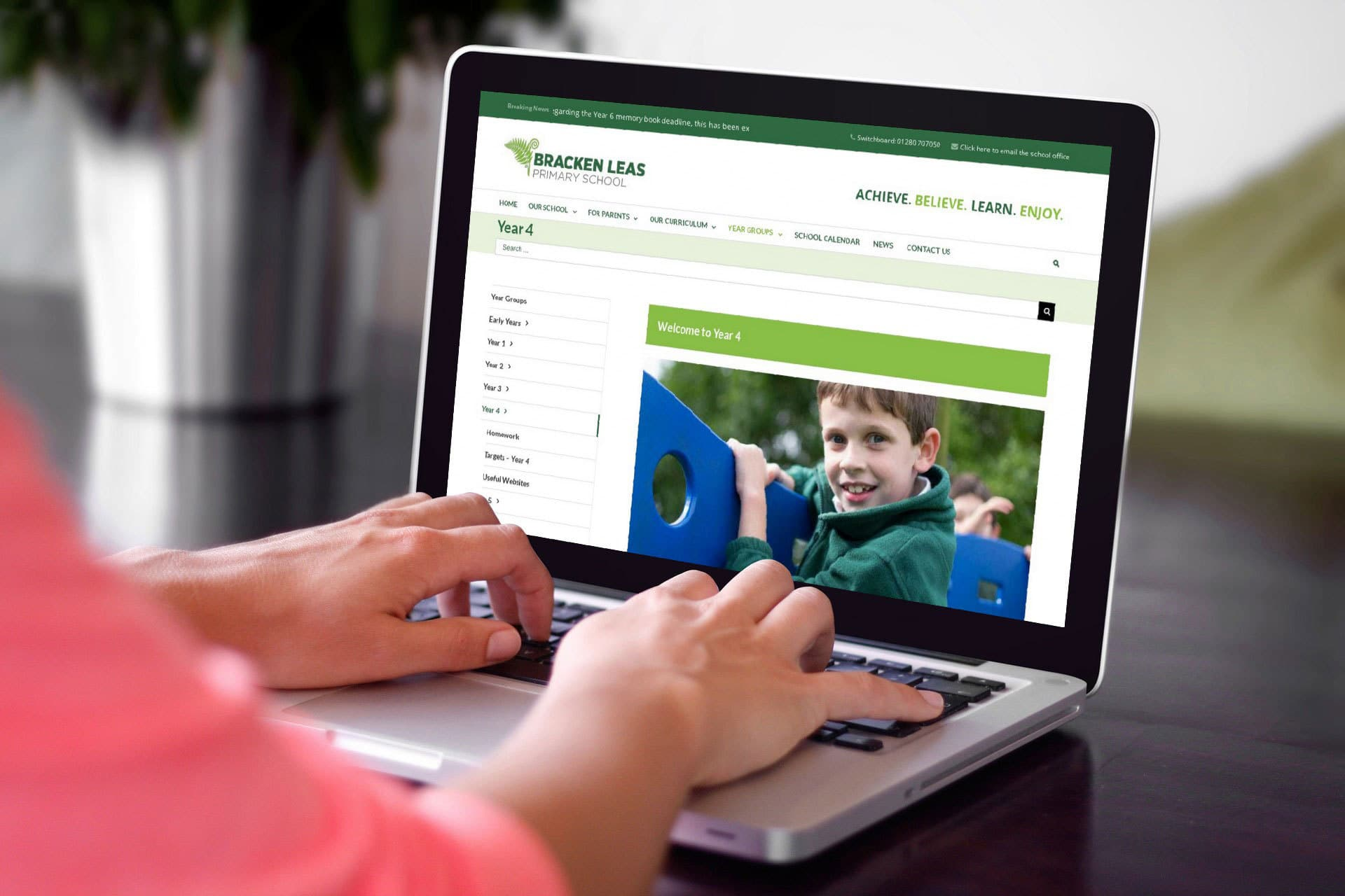 Brothers Creative | Bracken Leas School Website