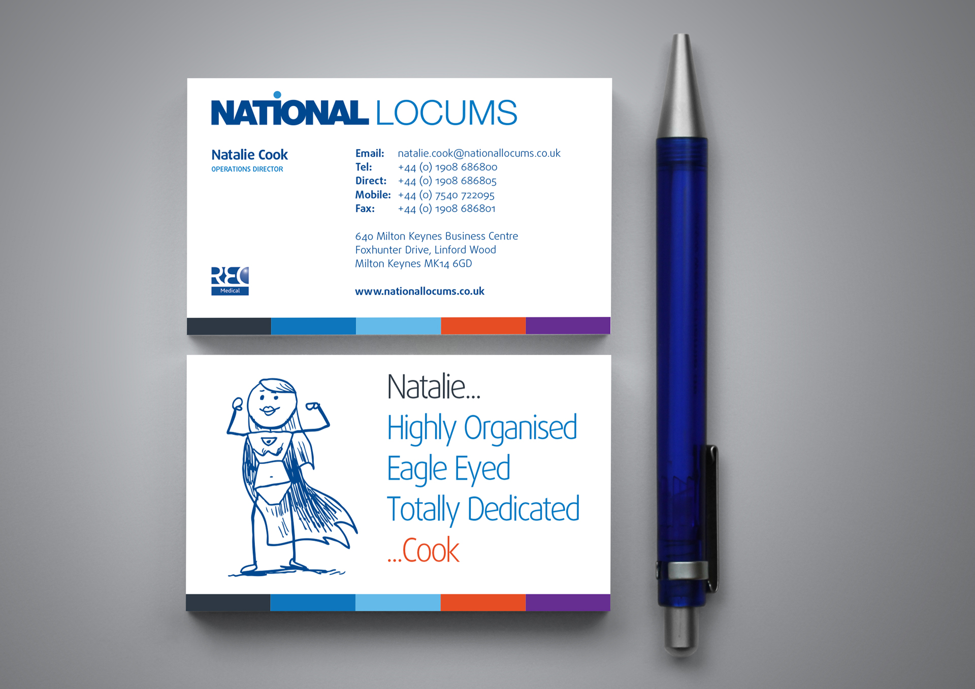 Brothers Creative | National Locums Wordpress Website and Branding