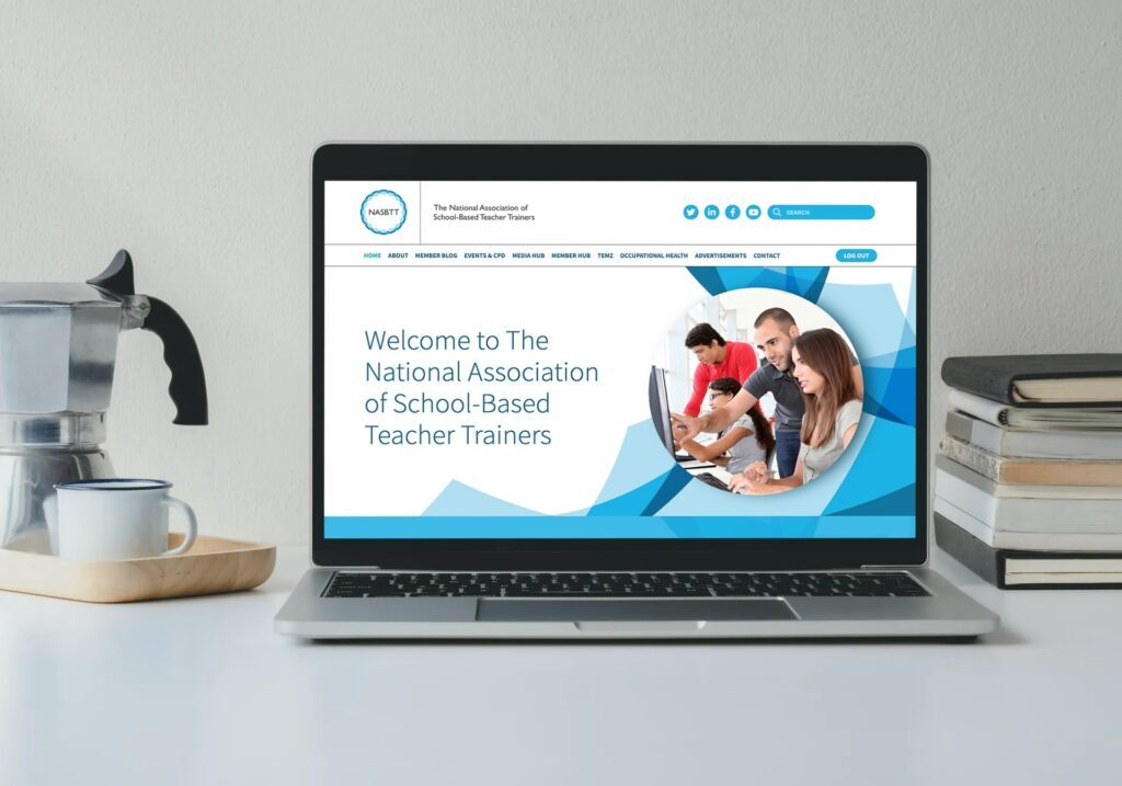 National Association Of School Based Teacher Trainers Website Design